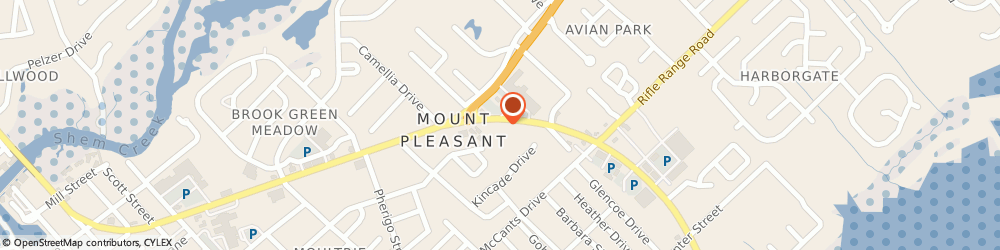 Route/map/directions to Mt Pleasant Animal Hospital, 29464 Mount Pleasant, 1217 Ben Sawyer Boulevard