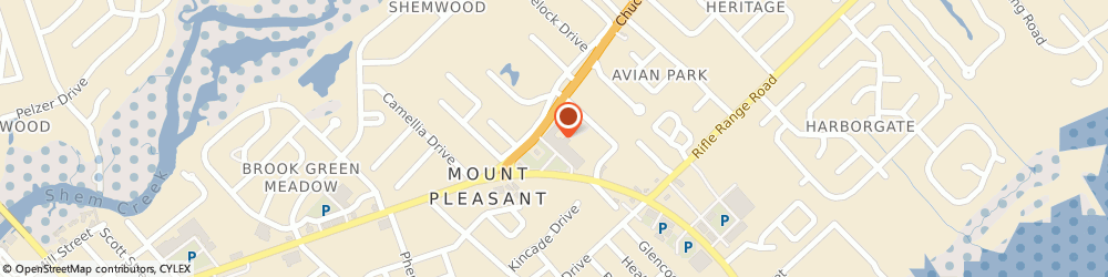 Route/map/directions to Advance America, 29464 Mount Pleasant, 1220 Ben Sawyer Blvd. Ste. T