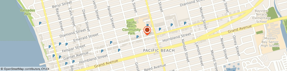 Route/map/directions to Chipotle Mexican Grill, 92109 San Diego, 1504 Garnet Ave
