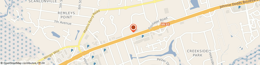 Route/map/directions to CITIBANK ATM, 29464 Mount Pleasant, 602 Johnnie Dodds