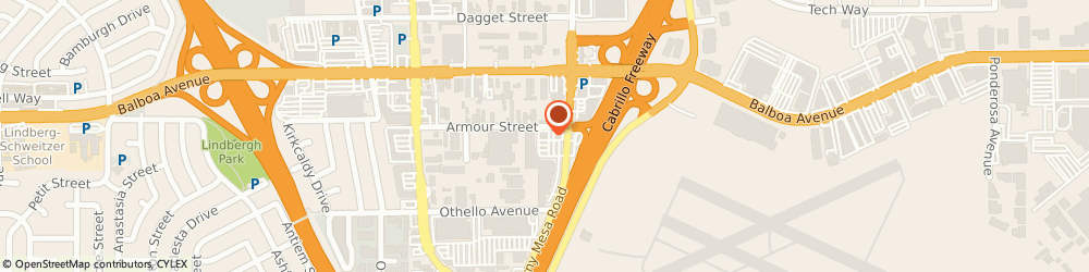 Route/map/directions to Quiznos, 92111 San Diego, 8055 ARMOUR STREET