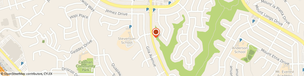 Route/map/directions to U-Haul Co., 92117 San Diego, 4475 CLAIREMONT DR