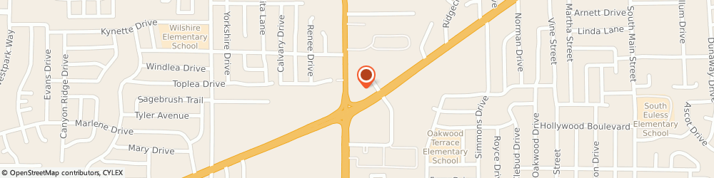 Route/map/directions to Chase Bank, 76040 Euless, 1010 W Euless Blvd