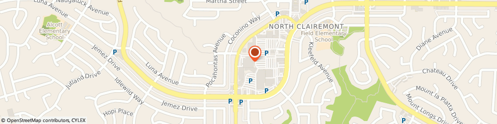 Route/map/directions to Mail Boxes Etc Super Center, 92117 San Diego, 4735 CLAIREMONT DRIVE