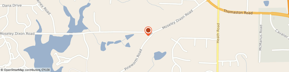 Route/map/directions to U-Haul Co., 31220 Macon, 6024 MOSELEY DIXON RD