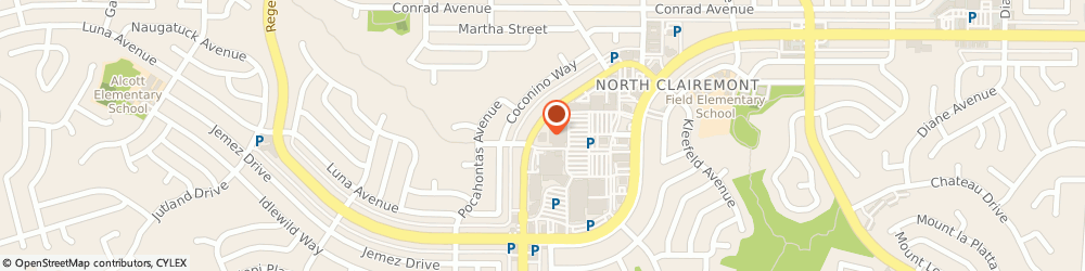 Route/map/directions to Mail Boxes Etc - Clairemont Square, 92117 San Diego, 4809 CLAIREMONT DRIVE
