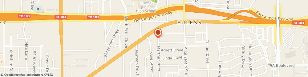 Route/map/directions to Nueno Look Beauty Salon, 76040 Euless, 228 Martha St