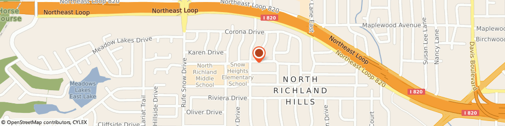 Route/map/directions to Laboratory Corporation Of America, 76180 North Richland Hills, 4109 Cagle Dr Ste A
