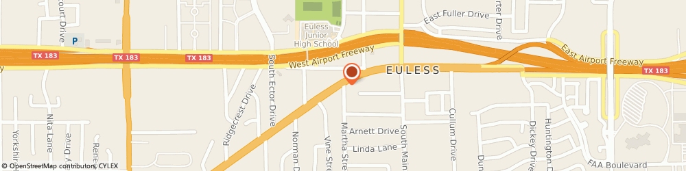Route/map/directions to Euless Hair and Beauty Salon, 76040 Euless, 228 Martha Street