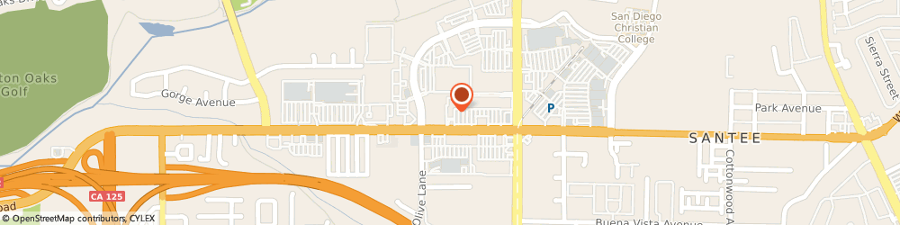 Route/map/directions to Expert Appliance Repair of Santee, 92071 Santee, 9640 Mission Gorge Road, Ste #B-328