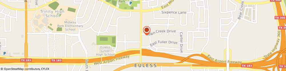 Route/map/directions to Euless Family Mart, 76039 Euless, 310 N Main St