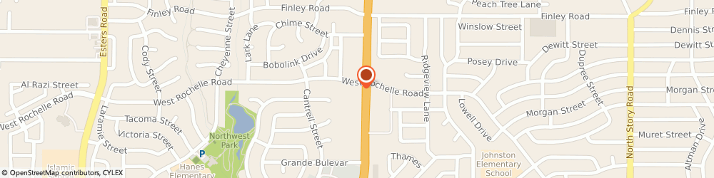 Route/map/directions to KFC, 75062 Irving, 2959 N. Belt Line Road