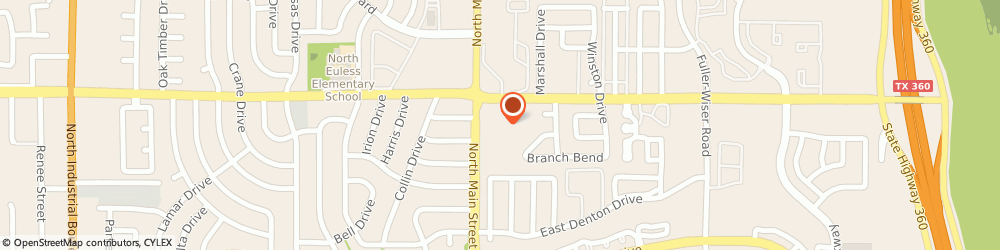 Route/map/directions to Water By The Gallon, 76039 Euless, 1060 North Main Street # 114