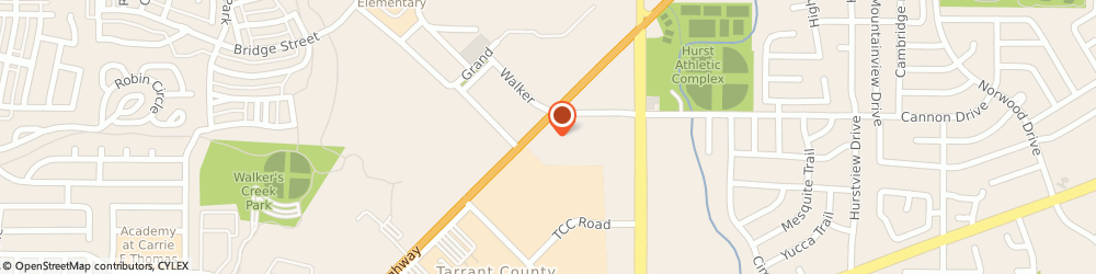Route/map/directions to Ntb National Tire & Battery, 76054 Hurst, 908 Grapevine Hwy