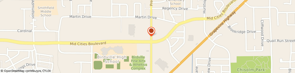 Route/map/directions to C v S/ Pharmacy, 76180 North Richland Hills, 6401 PRECINCT LINE RD