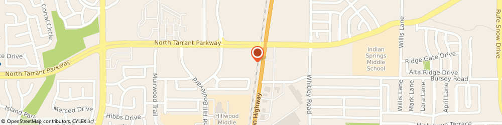 Route/map/directions to NTB-National Tire & Battery, 76244 Fort Worth, 5872 North Tarrant Pkwy