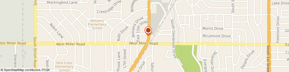 Route/map/directions to Wendy's, 75040 Garland, 1905 Garland Ave