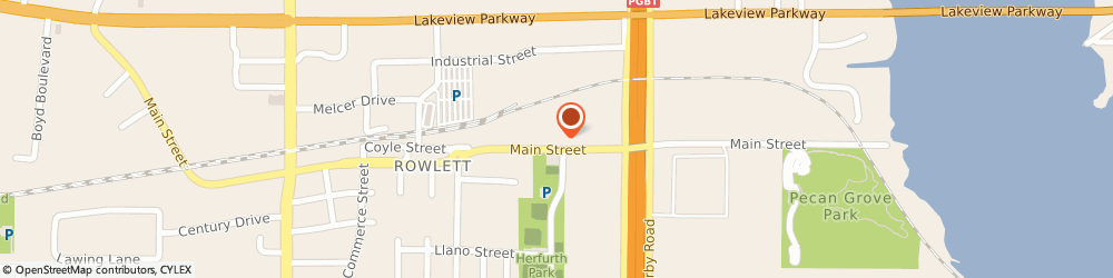 Route/map/directions to First United Methodist Church Of Rowlett-Minister, 75088 Rowlett, 4405 MAIN STREET