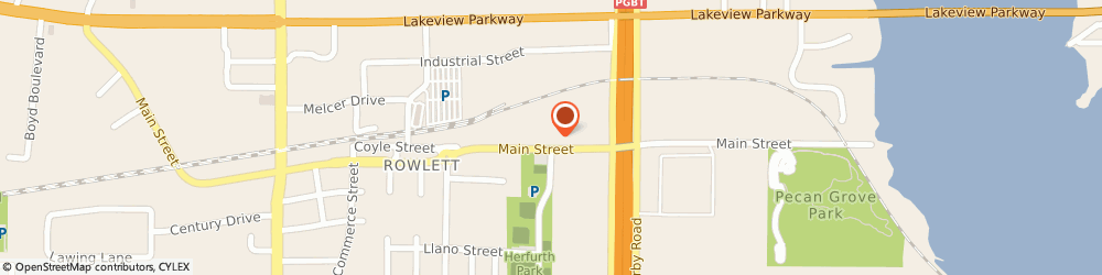Route/map/directions to First United Methodist Church Of Rowlett, 75088 Rowlett, 4405 MAIN STREET