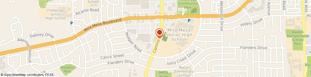 Route/map/directions to Citibank, 92126 San Diego, 10606 Camino Ruiz, Ste 10