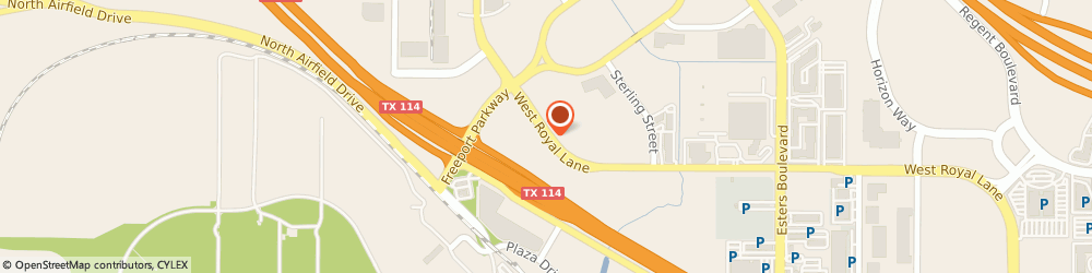 Route/map/directions to MultiCam, Inc., 75261 Dallas, 1025 W Royal Ln