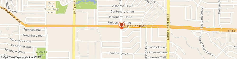 Route/map/directions to KFC, 75081 Richardson, 1776 E Belt Line Rd