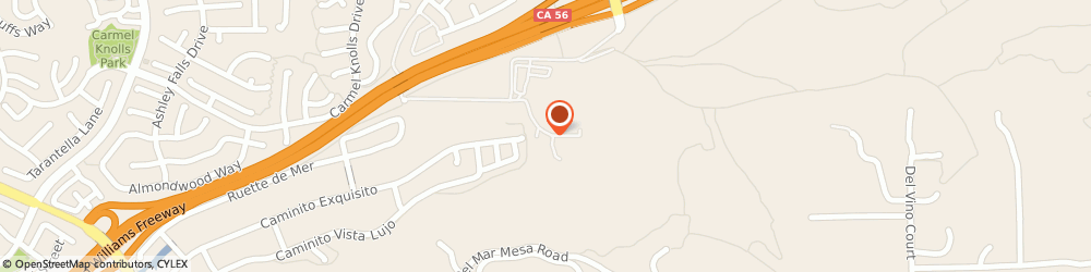 Route/map/directions to Markim Pet Resort, 92130 San Diego, 4393 CARMEL VALLEY ROAD
