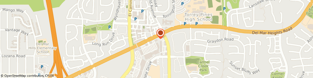 Route/map/directions to Bank of America, 92111 San Diego, 3535 DEL MAR HEIGHTS RD