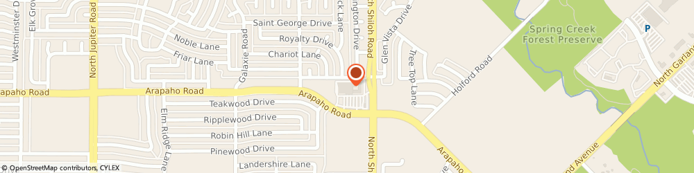Route/map/directions to Tom Thumb Pharmacy, 75044 Garland, 2645 Arapaho Rd