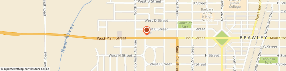 Route/map/directions to Jack in the Box, 92227 Brawley, 315 W Main St