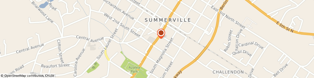 Route/map/directions to Regions Summerville, 29483 Summerville, 201 South Main Street