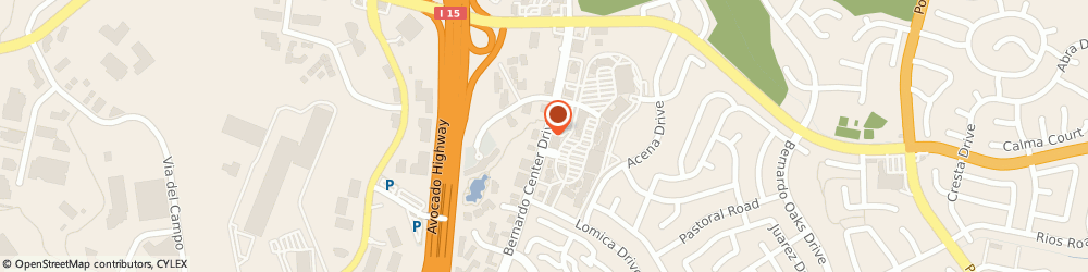 Route/map/directions to US BANK, 92128 San Diego, 16816 BERNARDO CENTER DRIVE