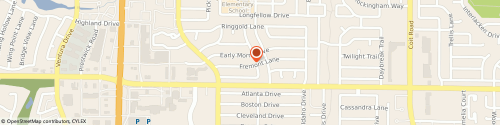 Route/map/directions to Lonestar Artisans, 75093 Plano, 4521 Fremont Ln