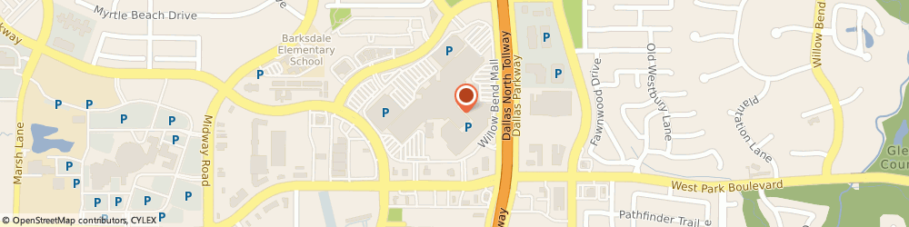 Route/map/directions to Z Gallerie, 75093 Plano, 6121 W. Park Blvd