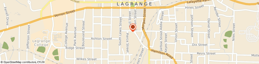 Route/map/directions to Appraisal Services Co, 30240 Lagrange, 103 Byron Hurst St