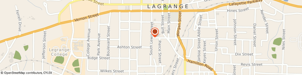 Route/map/directions to First Realty Of LaGrange, Inc, 30240 Lagrange, 306 South Lewis Street