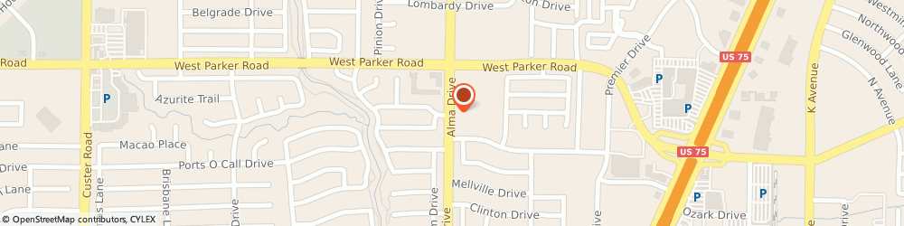 Route/map/directions to Rent-a-Center, 75075 Plano, 910 W PARKER RD STE A