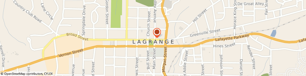 Route/map/directions to Trimble Appraisal Services, 30240 Lagrange, 11 N Lafayette Sq
