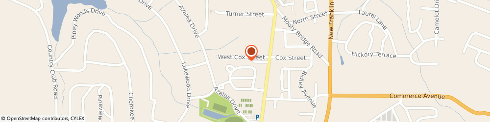 Route/map/directions to Greenwood Park Apartments, 30240 Lagrange, 1700 PARK PLACE