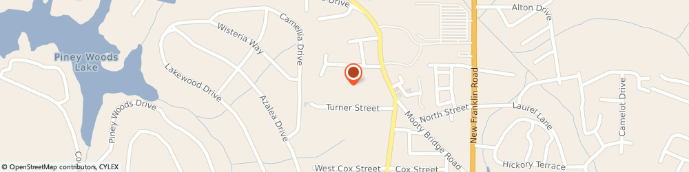 Route/map/directions to Tall Pines Apartments, 30240 Lagrange, 150 TURNER ST