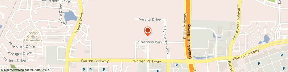 Route/map/directions to Holli Terry - RBC Wealth Management Financial Advisor, 75034 Frisco, 1 Cowboys Way