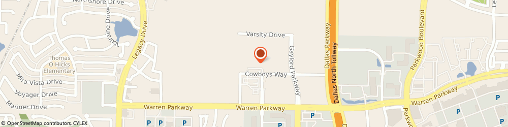 Route/map/directions to Robert G. Dillenback - RBC Wealth Management Financial Advisor, 75034 Frisco, 1 Cowboys Way