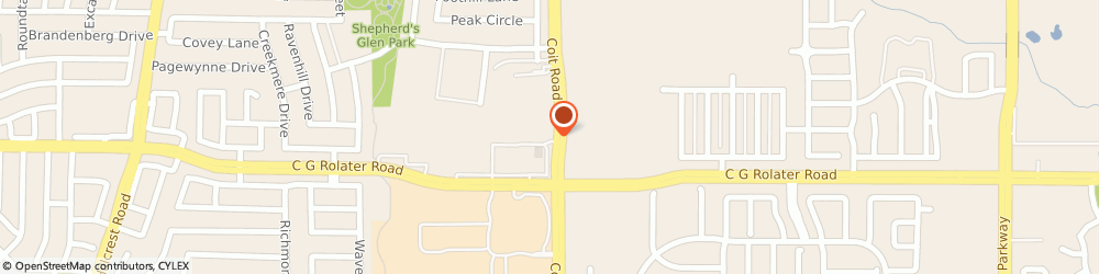 Route/map/directions to Kiddie Academy of East Frisco, 75035 Frisco, 7361 Coit Road
