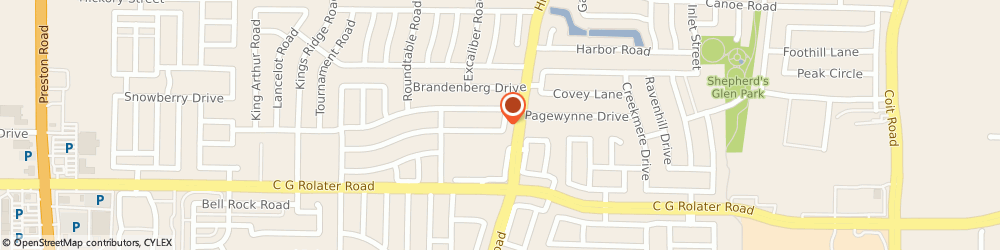 Route/map/directions to Integrated Chipware, 75035 Frisco, 10906 Ambergate Lane