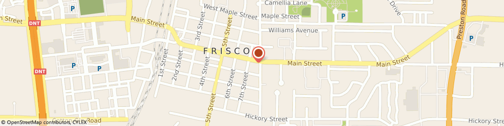 Route/map/directions to Texaco, 75034 Frisco, 7227 Main St