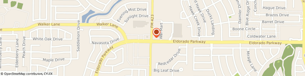 Route/map/directions to Navy Federal Credit Union, 75034 Frisco, 8999 Fm 423