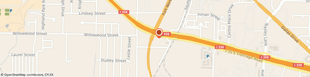 Route/map/directions to DIRECT GENERAL, 76205 Denton, 915 Fort Worth Dr