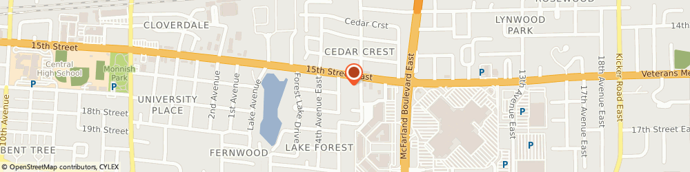 Route/map/directions to uBreakiFix in Tuscaloosa, 35401 Tuscaloosa, 505-D 15th St East