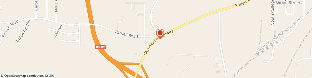 Route/map/directions to Lion Federal Credit Union, 71730 El Dorado, 1580 Haynesville Hwy