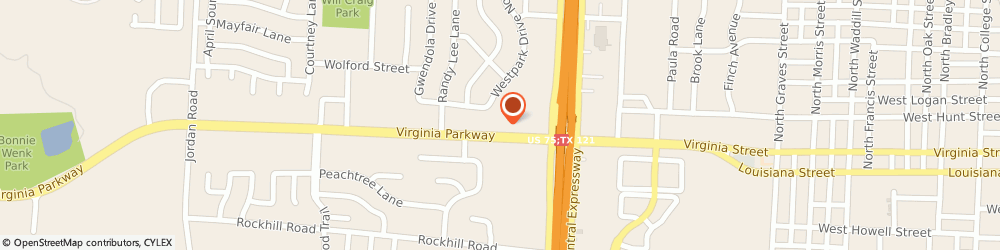 Route/map/directions to McKinney Appliance Repair Geeks, 75071 Mckinney, 2300 Virginia Pkwy